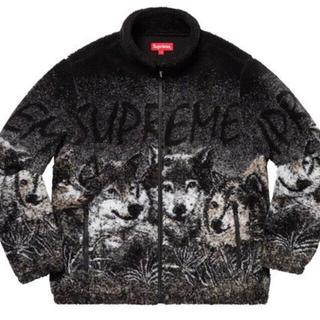 シュプリーム(Supreme)のSupreme19SS Wolf Fleece Jacket Black ウルフ(その他)