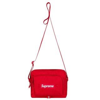 シュプリーム(Supreme)のSupreme 19ss shoulder bag Red(ショルダーバッグ)