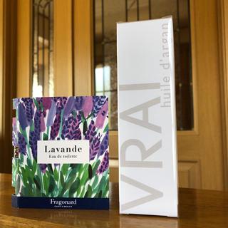 フラゴナール(Fragonard)の新品 未開封 フラゴナール 100%アルガンオイルとオードトワレ(オイル/美容液)