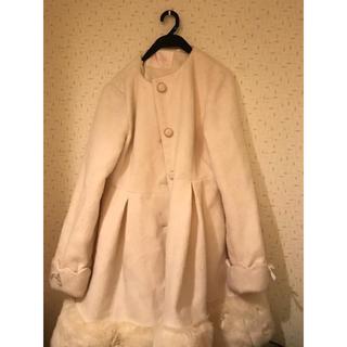 リズリサ(LIZ LISA)のLIZ LISA NO collar coat(ロングコート)