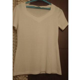 アーモワールカプリス(armoire caprice)の白 半袖カットソー(カットソー(半袖/袖なし))