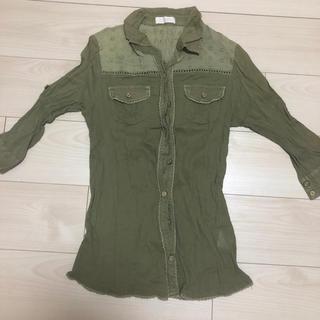 リズリサ(LIZ LISA)のLIZ LISA カーキシャツ(シャツ/ブラウス(長袖/七分))