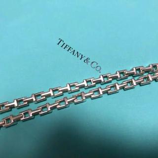ティファニー(Tiffany & Co.)のTiffany & Co. Tチェーンネックレス(ネックレス)