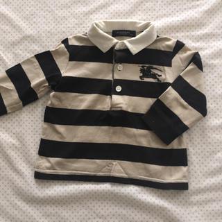 バーバリー(BURBERRY)のバーバリー ラガーシャツ  80cm(Tシャツ)