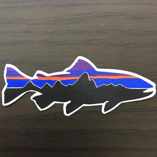 patagonia - 【縦3.8cm横9.2cm】patagonia パタゴニア   公式ステッカー