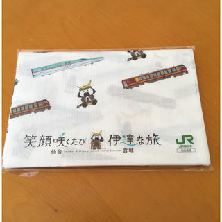 ジェイアール(JR)の新品 はやぶさ&むすび丸レジャーシート(弁当用品)
