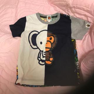 アベイシングエイプ(A BATHING APE)のBAPE KIDS☆Tシャツ☆100110☆サファリ☆マイロ☆エイプ(Tシャツ/カットソー)