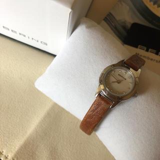 ebe023520d ベーリング(BERING)のBERING/電池交換済み/レディース(腕時計)