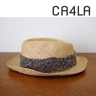 カシラ(CA4LA)のCA4LA ハット カンカン帽(ハット)