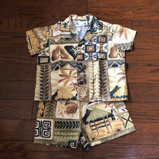 kidsアロハシャツ  パンツ(その他)