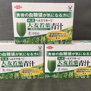 タイショウセイヤク(大正製薬)の大正製薬 青汁 大麦若葉 3箱(青汁/ケール加工食品)