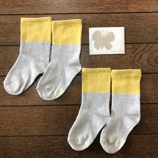 ミナペルホネン(mina perhonen)のmina perhonen ミナペルホネン   ベビー 靴下 2足セット(靴下/タイツ)