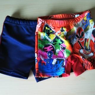 バンダイ(BANDAI)の男の子水着2枚セット 110センチ 海水パンツ(水着)