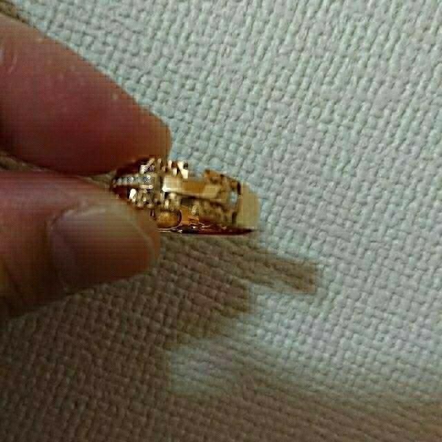 JEWELRY TSUTSUMI(ジュエリーツツミ)の値下げしました!イエローゴールド リング レディースのアクセサリー(リング(指輪))の商品写真