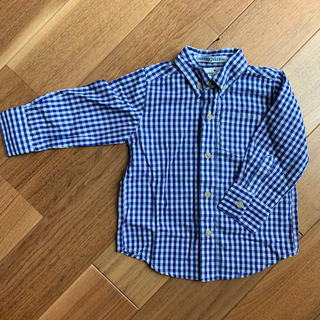 ドンキージョシー(Donkey Jossy)の子供用 チェックシャツ 長袖(ブラウス)