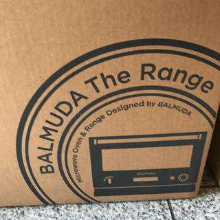 バルミューダ(BALMUDA)の【新品】バルミューダ  ザレンジ ブラック(電子レンジ)