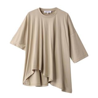エンフォルド(ENFOLD)の新品未使用★ENFOLD エンフォルド スビン天竺 ランダムヘムTシャツ(Tシャツ(半袖/袖なし))