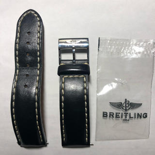 ブライトリング(BREITLING)のブライトリング ナビタイマー レザーベルト 尾錠 バックル 20ミリ(レザーベルト)