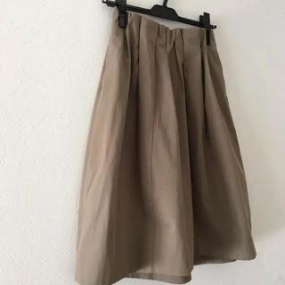 プラージュ(Plage)のplage スカート カーキ 38(ひざ丈スカート)