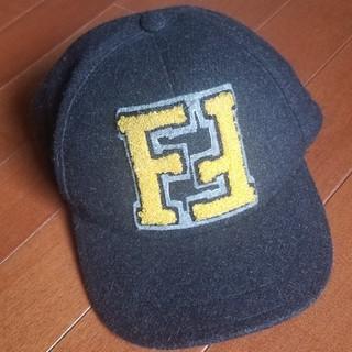 フェンディ(FENDI)のFENDIキャップ キッズ(帽子)