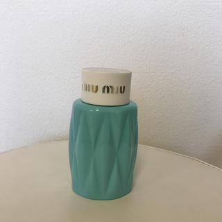 ミュウミュウ(miumiu)の【新品・未使用】miumiu ボディローション 100ml(ボディローション/ミルク)