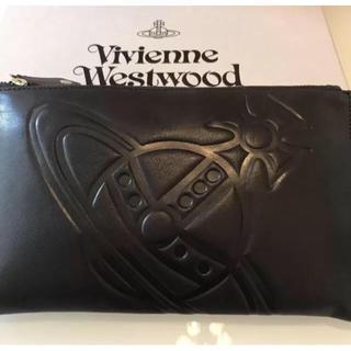 ヴィヴィアンウエストウッド(Vivienne Westwood)のヴィヴィアン ビッグオーブ クラッチバッグ(クラッチバッグ)
