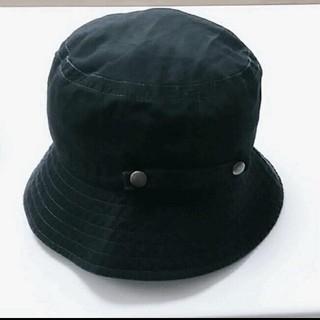 ユニクロ(UNIQLO)のUNIQLO ハット 帽子 黒(ハット)
