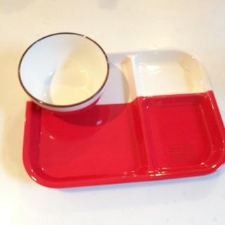 ニコアンド(niko and...)の美品 ニコアンド ランチプレート お茶碗 セット(プレート/茶碗)