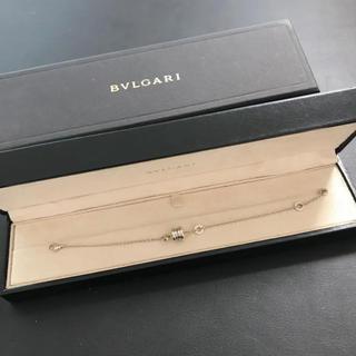 ブルガリ(BVLGARI)の【美品】BVLGARI ブルガリ  ビーゼロワン ブレスレット ホワイトゴールド(ブレスレット/バングル)
