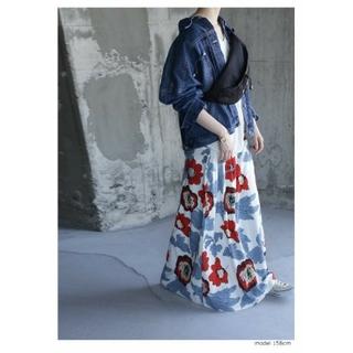 アンティカ(antiqua)のテルキチ様専用。アンティカ レトロ花柄ロングスカート(ロングスカート)