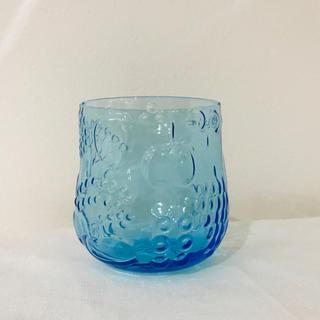 アラビア(ARABIA)のフルッタ  ライトブルー タンブラー ビンテージ アラビア イッタラ(グラス/カップ)