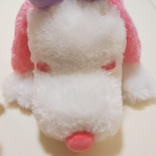 SNOOPY(スヌーピー)の☆非売品☆スヌーピー  ピンクローズベル  ぬいぐるみ  レア エンタメ/ホビーのおもちゃ/ぬいぐるみ(ぬいぐるみ)の商品写真