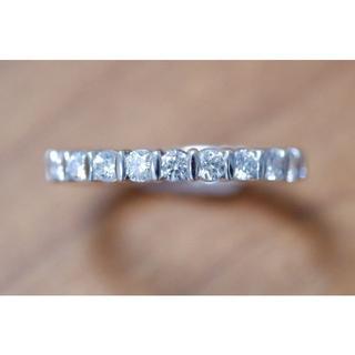 フラージャコー 750 WG ダイヤモンド 0.44ct ハーフ エタニティ(リング(指輪))