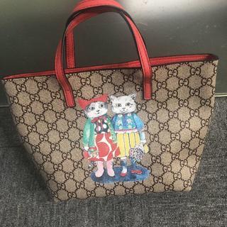 グッチ(Gucci)のGUCCI ヒグチユウコ キトゥントート(トートバッグ)