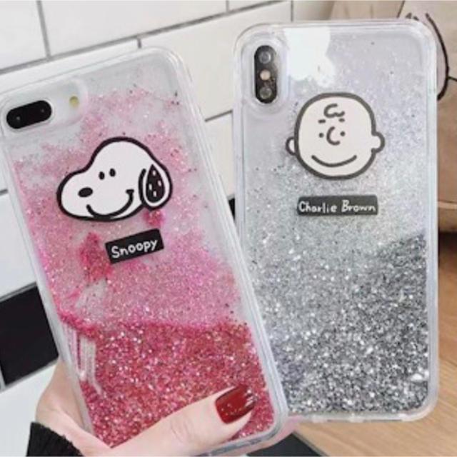 グッチ アイフォンXS ケース 財布型 、 スヌーピー&チャーリーブラウングリッター iPhoneケースの通販 by さゆ's shop|ラクマ
