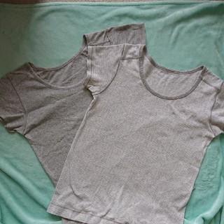 ムジルシリョウヒン(MUJI (無印良品))のMUJI 140センチ 肌着 2枚組(下着)