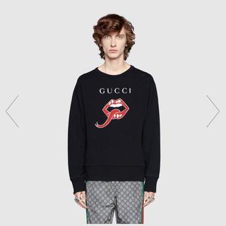 グッチ(Gucci)の現行モデル 2019 グッチ マウス コットン ジャージー スウェット シャツ(スウェット)