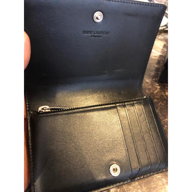 1f09b4d27c72 Saint Laurent(サンローラン)のサンローラン Yves Saint Laurent 財布 コンパクト ウォレット メンズ