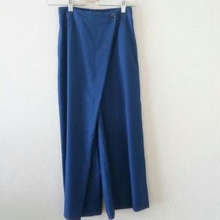 ノーブル(Noble)の【美品】NOBLE  ラップワイドパンツ 34サイズ(その他)