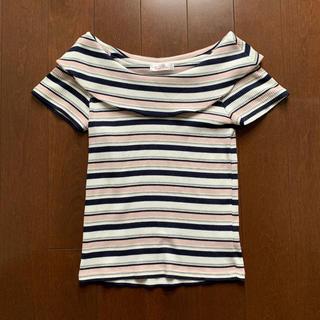 バイバイ(ByeBye)のByeBye ボーダートップス(Tシャツ(半袖/袖なし))