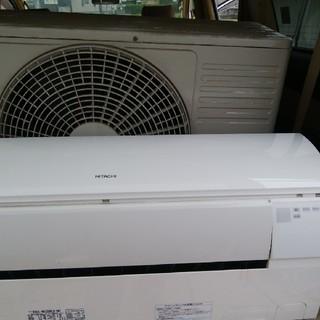日立 - 日立 エアコン 高年式 6畳~10畳(使用感ないですがクリーニング済) 美品