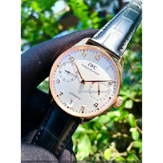 ロレックス 値段 、 IWC ポルトギーゼ オートマチック IW500113 メンズ 新品の通販 by 菊子's shop|ラクマ
