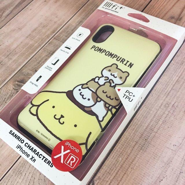 防水 アイフォーン8 ケース ランキング 、 ポムポムプリン - IIIIfit+  ポムポムプリン  iPhoneXR SAN906PNの通販 by まぐろ殿's shop|ポムポムプリンならラクマ