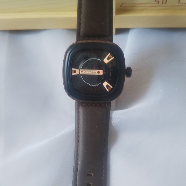 ライデン 時計 - セブンフライデー 茶色の通販 by ★メルカリからの参入☆'s shop|ラクマ
