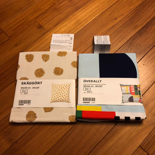 IKEA - IKEA クッションカバー2枚セット