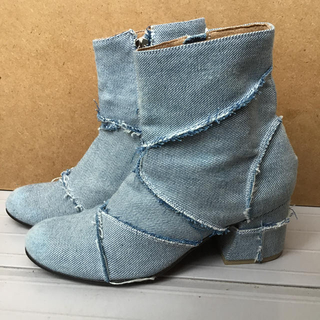 ビームス(BEAMS)の値下げ‼️Mサイズ靴大放出!ビームス  デニムショートブーツ(ブーツ)