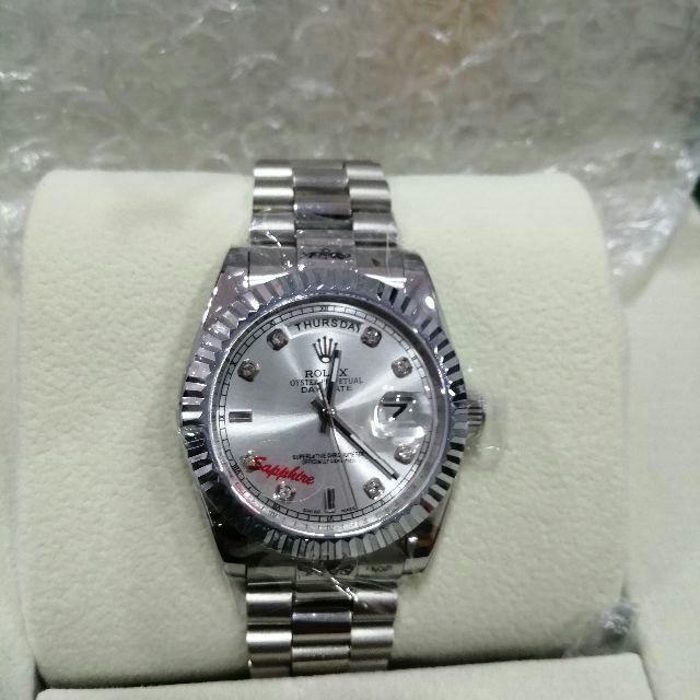 35mm ROLEX ロレックス 腕時計 専用箱付き メンズ用 新品同様の通販 by 菊子's shop|ラクマ