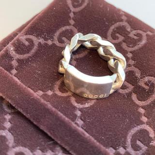 グッチ(Gucci)のGUCCI リング チェーン 指輪(リング(指輪))