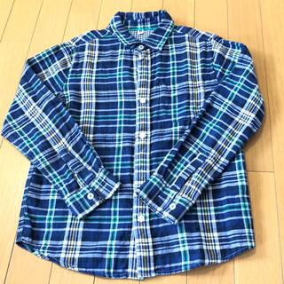 ユニクロ(UNIQLO)のユニクロ チェックシャツ 140(ブラウス)