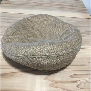カオリノモリ - カオリノモリ 麦藁 ベレー帽
